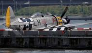 Pesawat jet Thunderbolt AS jatuh di Sungai Hudson