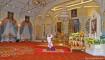 Raja baru Thailand pimpin doa di Grand Palace