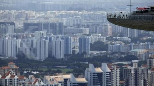 Ekonomi lesu, harga properti di Singapura menurun