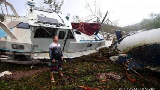 Ini laporan awal kerusakan topan Debbie Australia