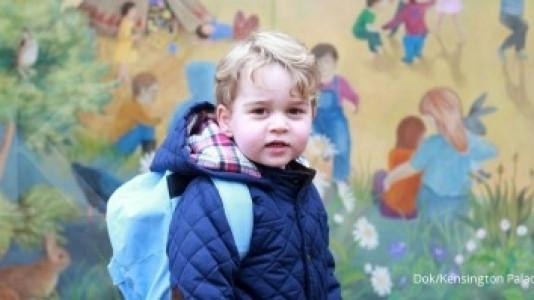 Inilah wajah Pangeran George di usia 4 tahun