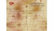 Surat dari penumpang Titanic toreh rekor lelang