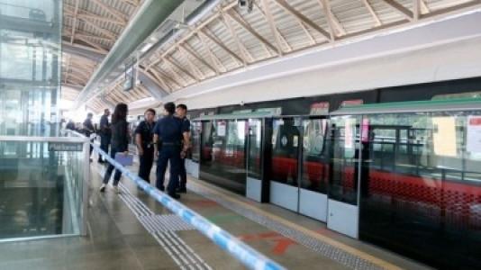 Ini kronologi tabrakan MRT di Singapura